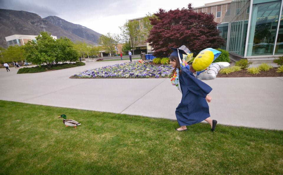 alice and BYU Duck